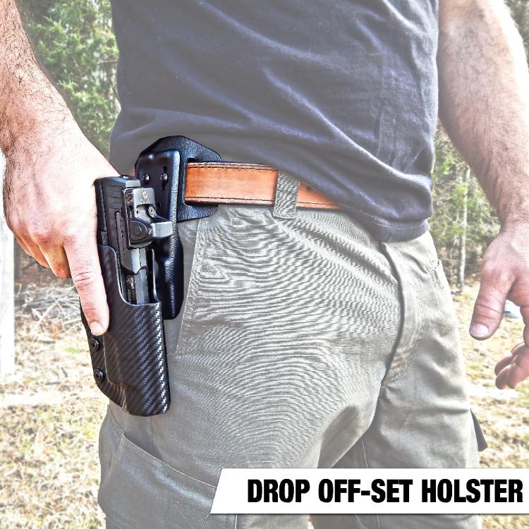 Dara Holsters Drop Off Set DOH Holster Rig, tactical holster, drop holster, doh rig, competition holster