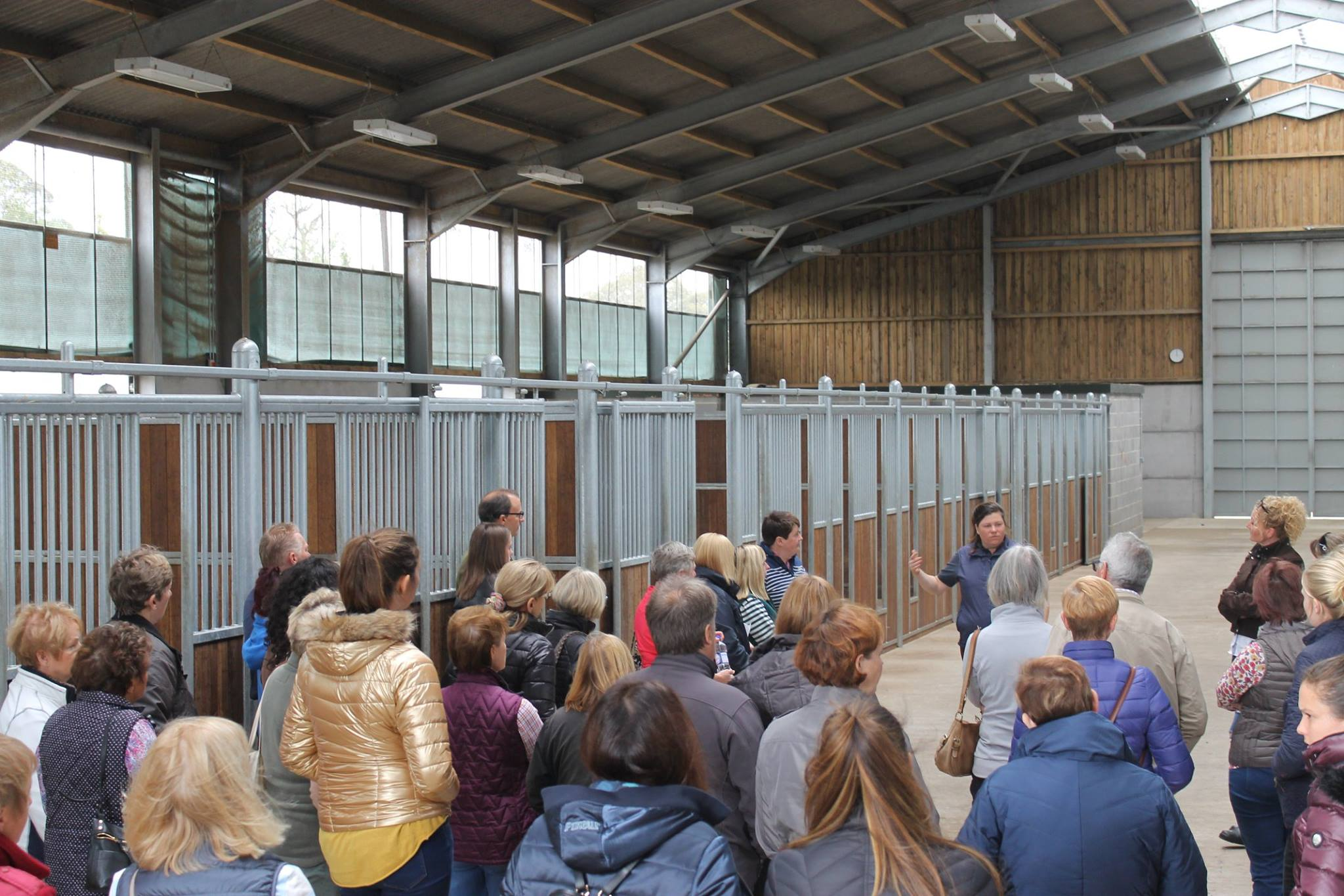 Stud tour - Mare barn