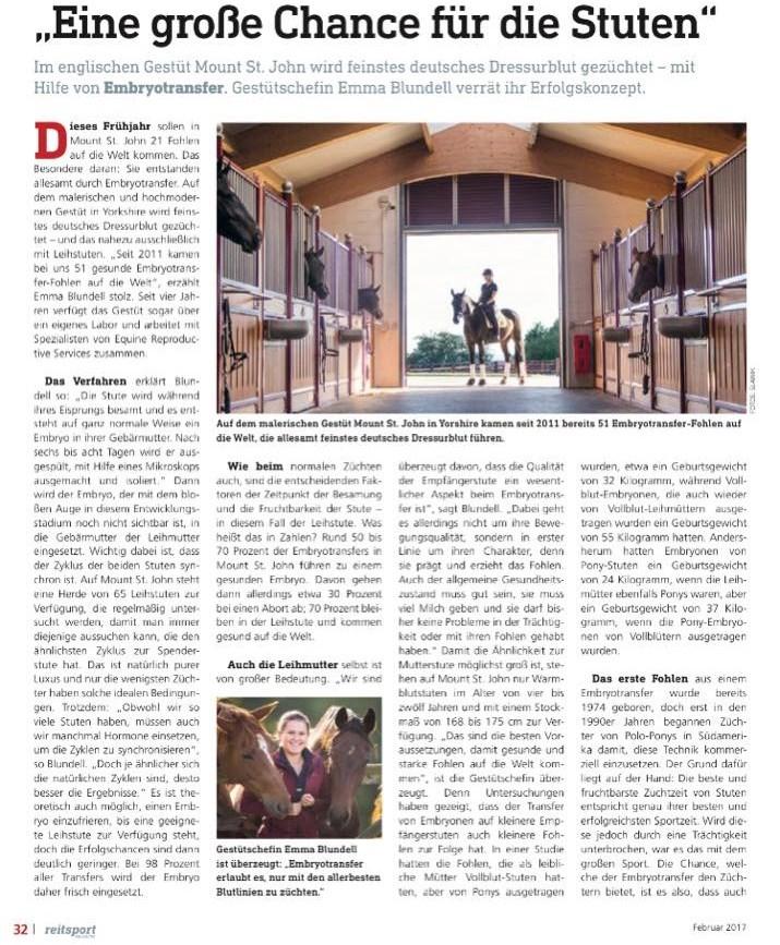 Reitsport Magazine