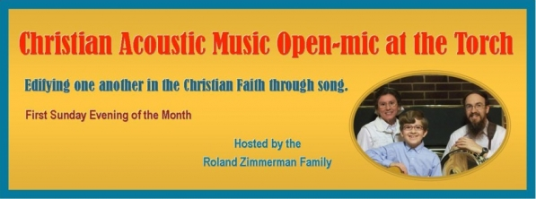 Christian Acoustic Music Open-mic at the Torch