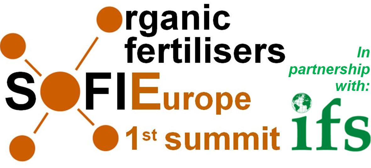 1st Summit of the Organic Fertiliser Industry in Europe (SOFIE)