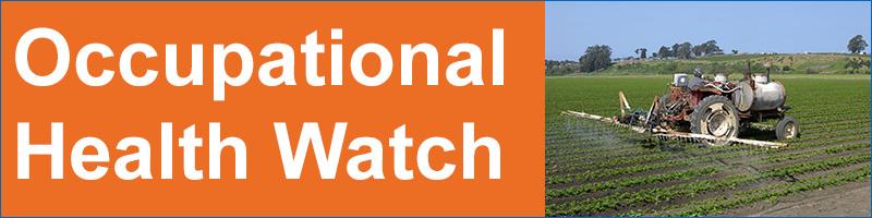 Occupational Health Watch banner