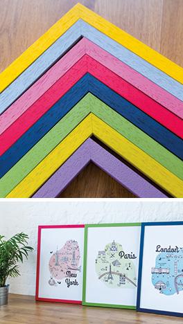 Mainline's Spectrum chevrons in eight rainbow colours