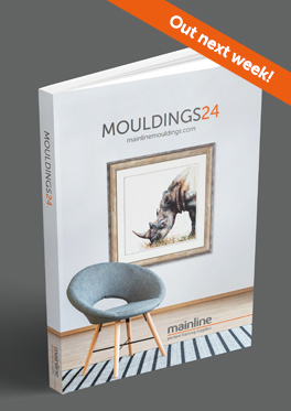 Picture of Mainline's latest catalogue, Mouldings 24 on dark grey background
