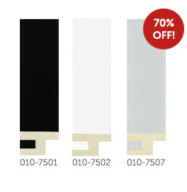 70% off Modular mouldings 010-7501, 010-7502 and 010-7507