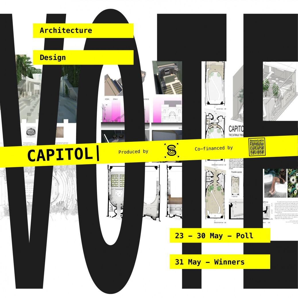 VOTE: OPEN CALL ARCHITECTURE & DESIGN – Shape the future of CAPITOL