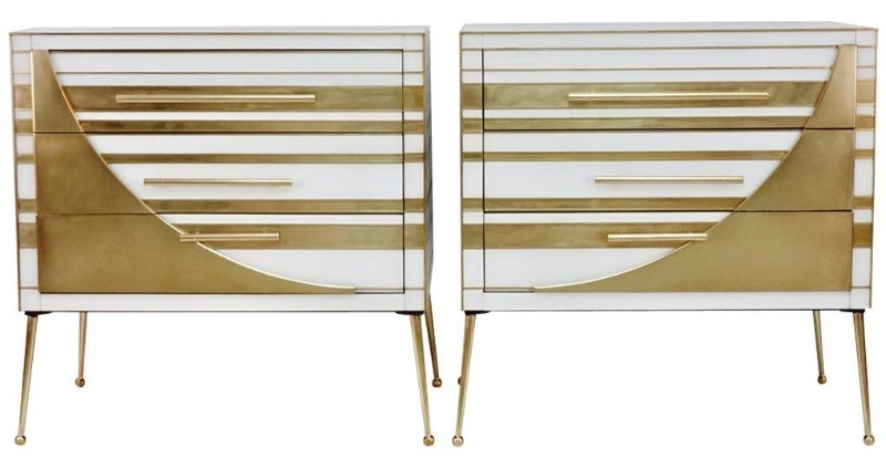 gold-brass-white-glass-chests