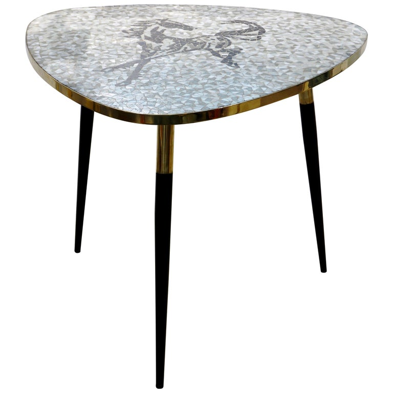 italian-vintage-horse-mosaic-dining-coffee-table-776pd