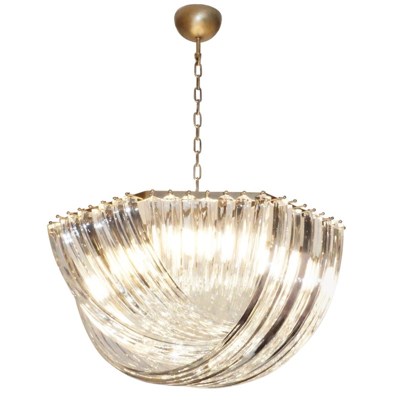 contemporary-italian-minimalist-curved-crystal-murano-glass-brass-chandelier-794ph