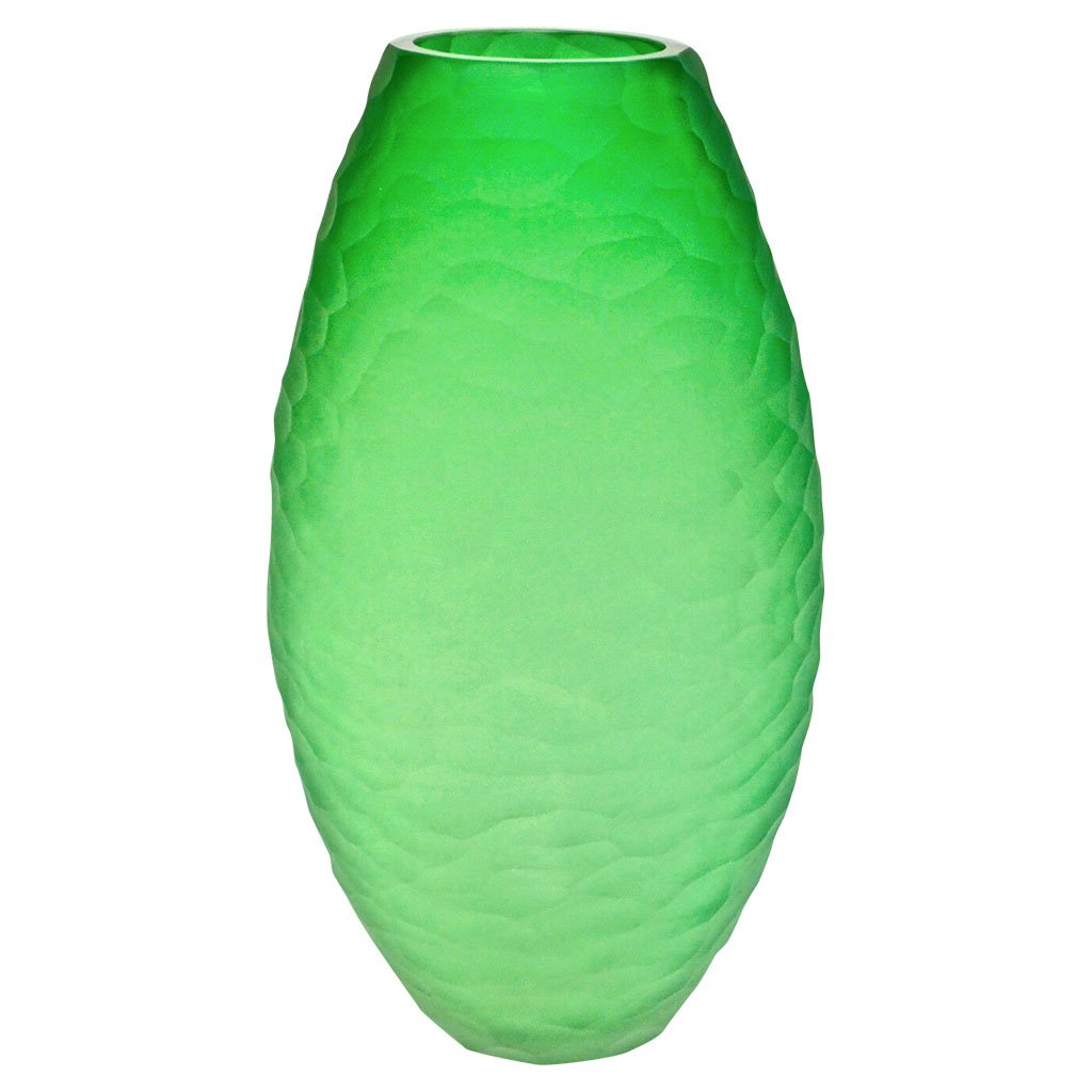 green-murano-glass-vase-vivarini-schiavon
