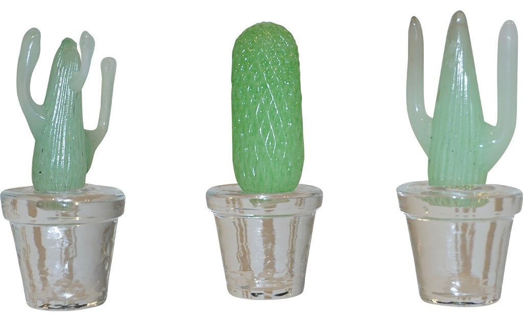 green-murano-glass-cactus-plants