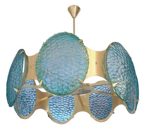 bespoke-italian-organic-aquamarine-murano-glass-round-brass-chandelier-pendant