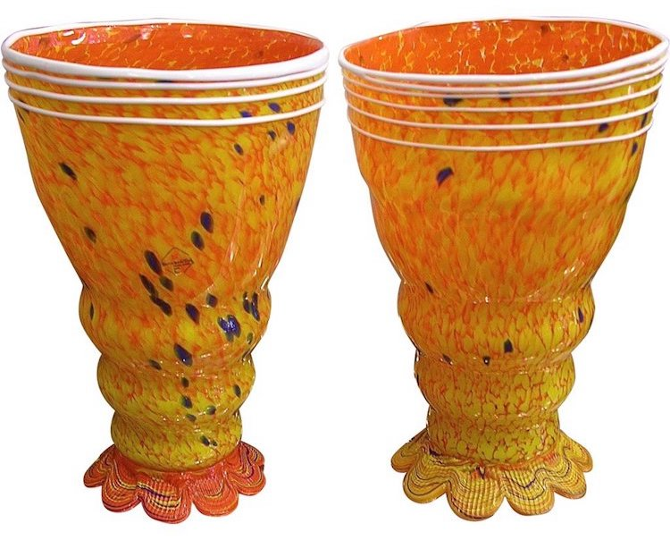 yellow-orange-glass-lamps