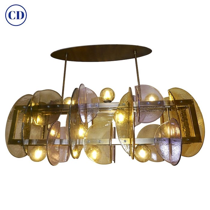 contemporary-amethyst-murano-glass-bronze-chandelier