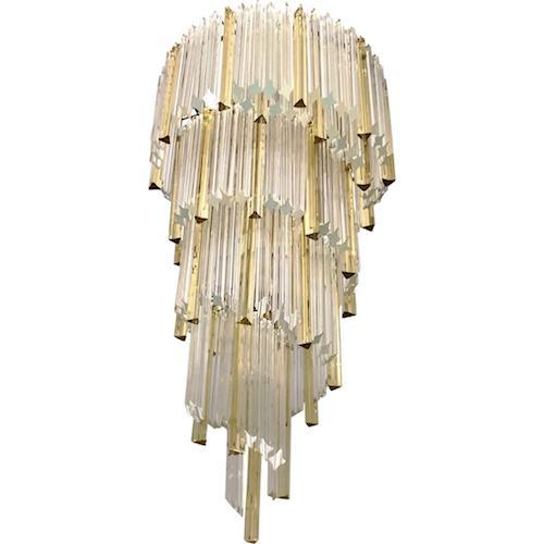venini-vintage-amber-crystal-murano-glass-chandelier