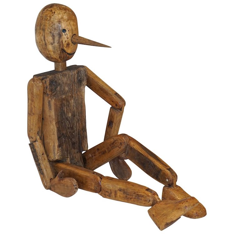 articulated-wooden-pinocchio-sculpture