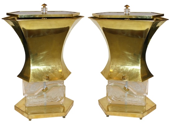modern-gold-brass-and-glass-lamps
