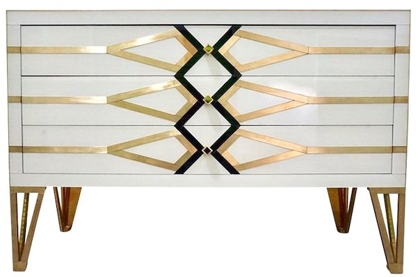 contemporary-italian-gold-brass-black-white-chest