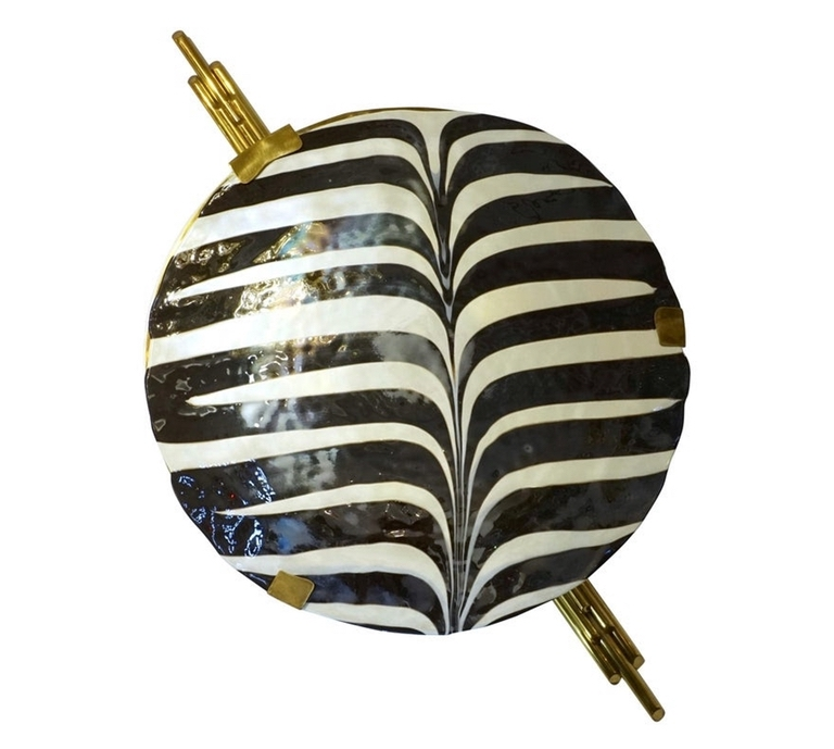 art-deco-style-monumental-black-white-murano-wall-lights-745pd