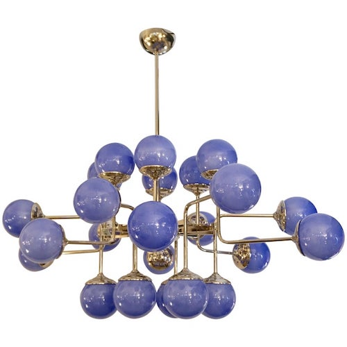 lavender-periwinkle-murano-glass-nickel-chandelier