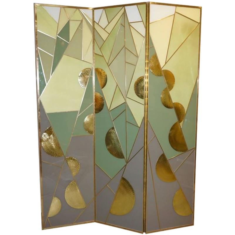 1980s-artdeco-green-glass-screen