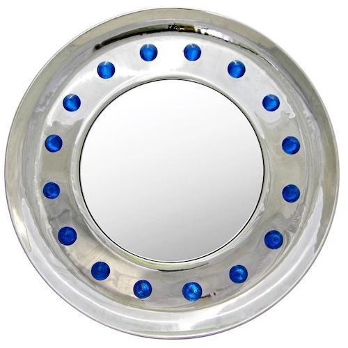 italian-modern-chromed-round-mirrors-687pa