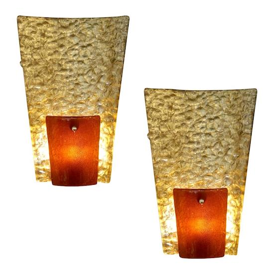 gold-amber-glass-827pd-organic-sconces