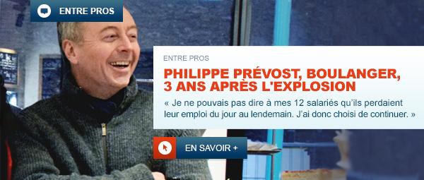 Philippe Prévost, sociétaire MAPA boulanger pâtissier sinistré pendant près de 3 ans !