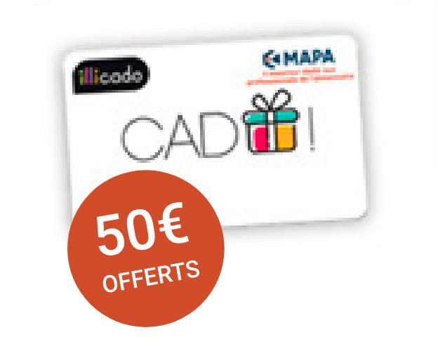 Parrainage : 50€ offerts