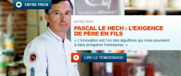 Portrait de Pascal Le Hech, charcutier-traiteur.