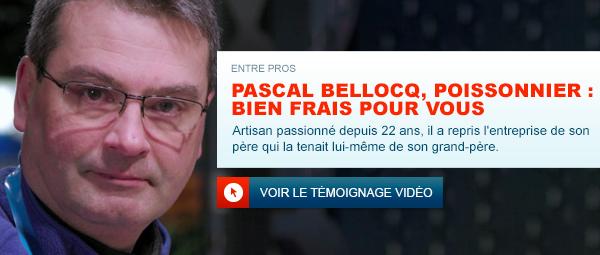 Portrait de Pascal Bellocq poissonnier