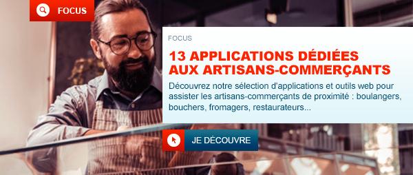 13 applications et outils web dédiés aux artisans-commerçants de proximité