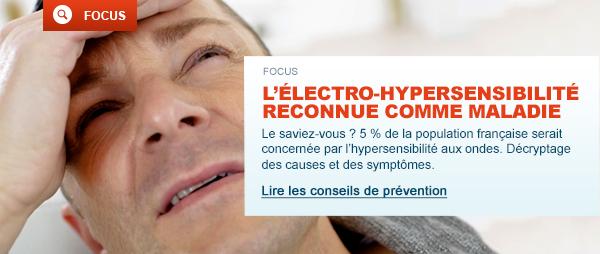 L'electro-hypersensibilitereconnue comme maladie