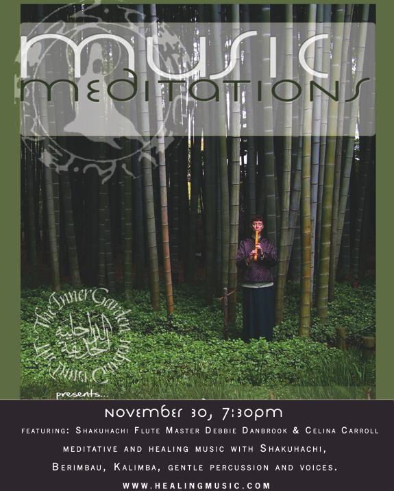 Music Meditation - Nov 30th