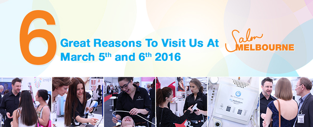6 great reasons to visit us at Salon Melbourne tomorrow