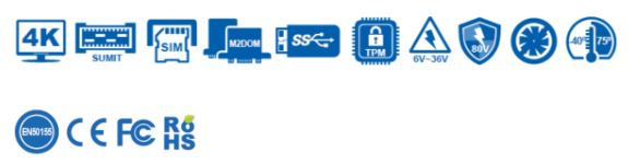 Serie dei PC fanless Vecow ECS-9000