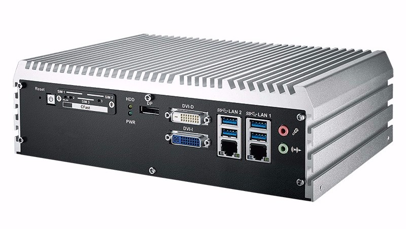 Mini PC Fanless ECS-9000-4G laterale