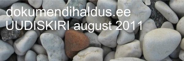 dokumendihaldus.ee UUDISKIRI august 2011