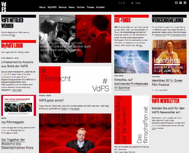 Die neue Website der VdFS