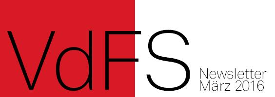 VdFS Newsletter März