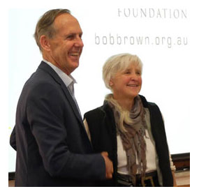 Bob Brown and Jill Redwood Click here to read more on the EEG website