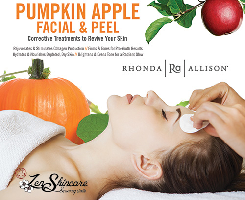 Signature Pumpkin Apple Fall Facial at Zen Skincare Waxing Studio, Asheville NC
