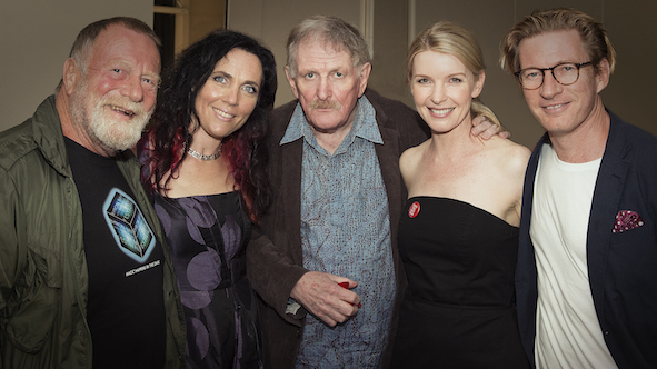 Jack Thompson, BBFF's Festival Director J'aimee Skippon-Volke, BBFF's Patron The late Paul Cox, Jacqueline McKenzie and David Wenham