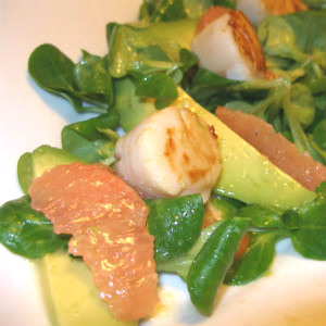 Hallie-s-Seared-Sea-Scallop-Salad