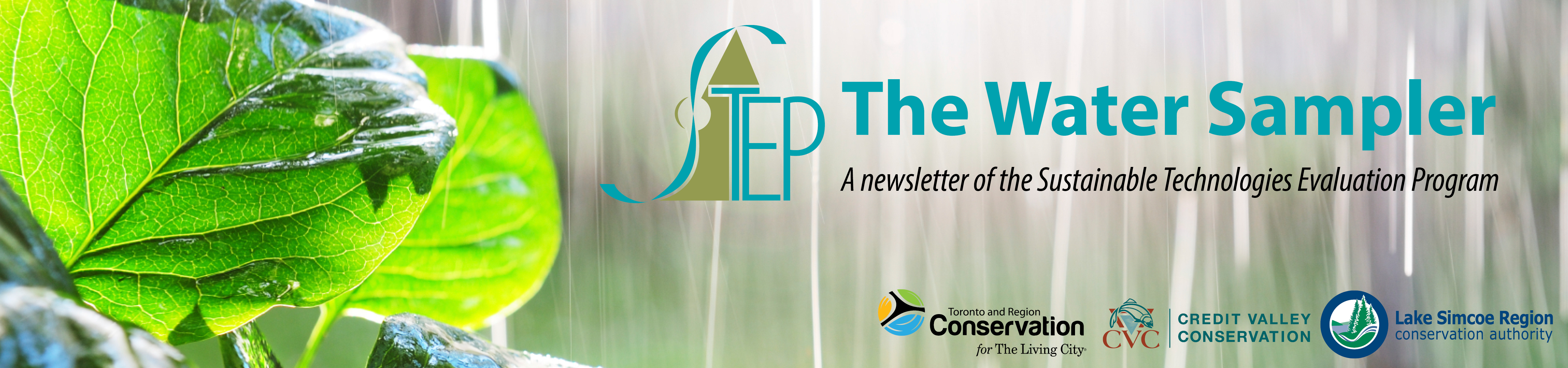 The Water Sampler - A newsletter of the Sustainable Technologies Evaluation Program