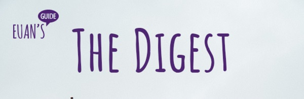 Euan's Guide logo and text saying 'The Digest'.