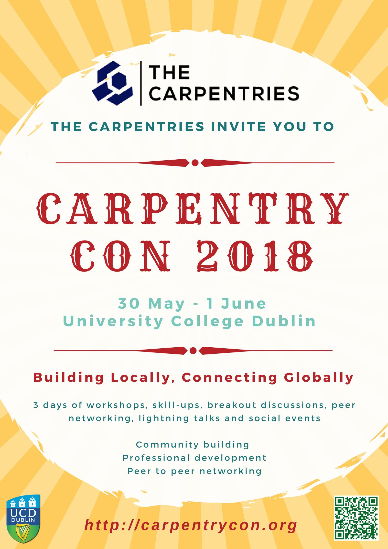 CarpentryCon poster