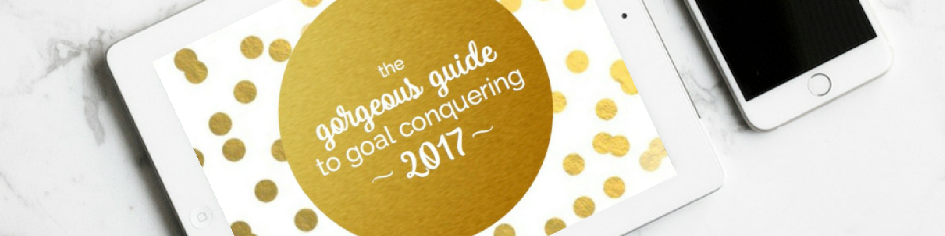 The Gorgeous Guide to Goal Conquering 2017