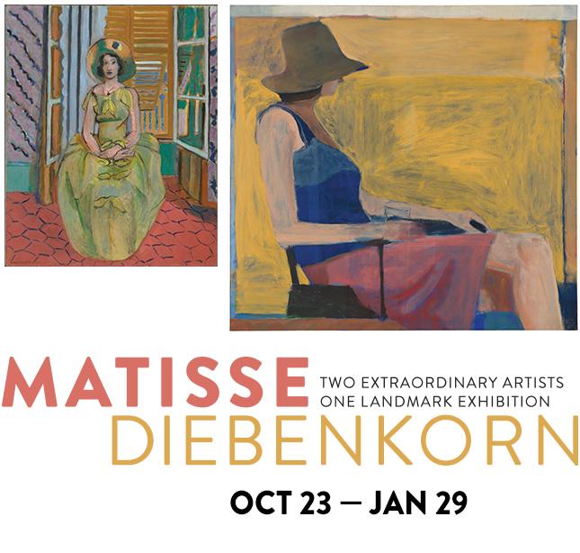 Matisse/Diebenkorn Logo