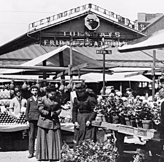 Archival Image of Lexington Market